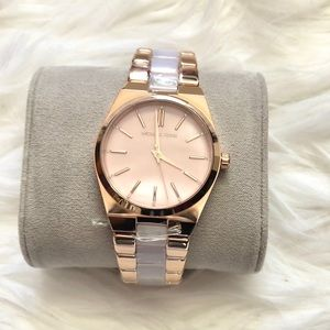 MICHAEL Michael Kors Channing rose gold watch